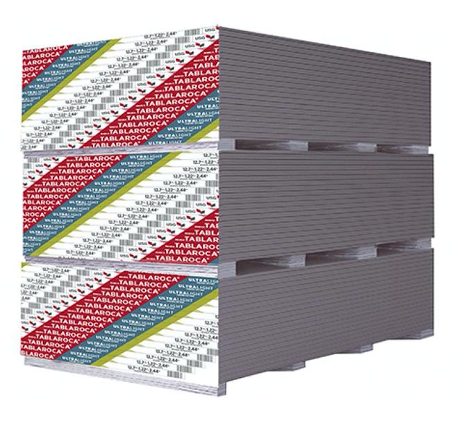 Material tablaroca ultralight